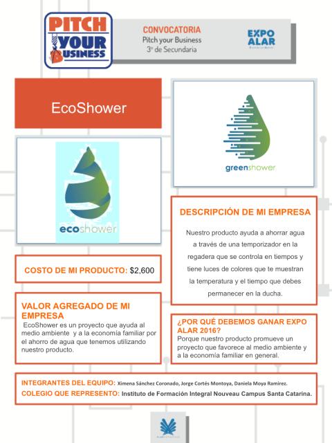 eco shower-1 proyecto emprendedores