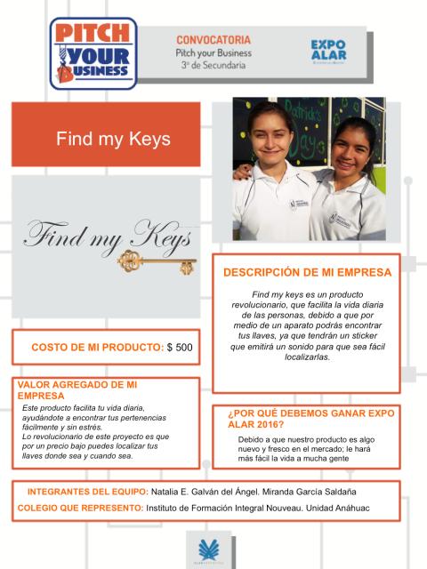 FIND MY KEYS PYB