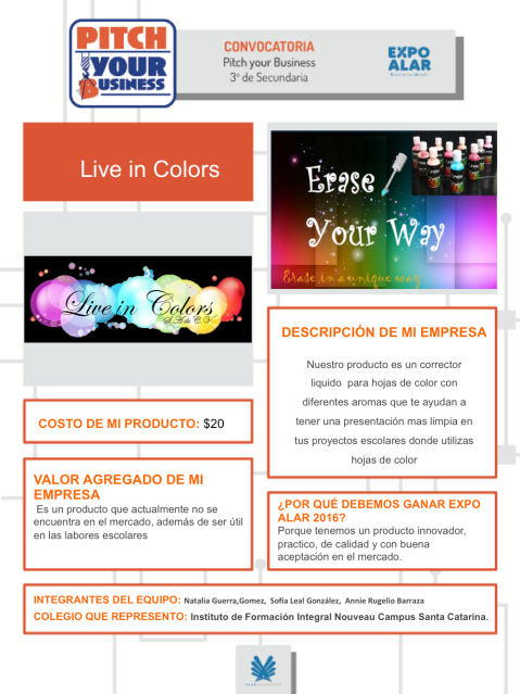 live in colors-1 proyecto emprendedores