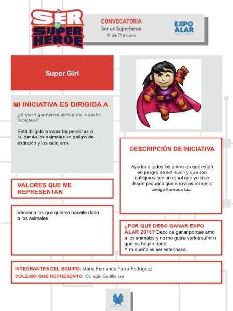 Maria Fernanda Parra Rodriguez - plantilla registro SER SUPERHEROE