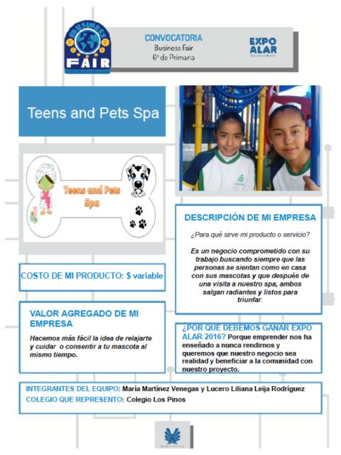 Teens pet business fair PDF
